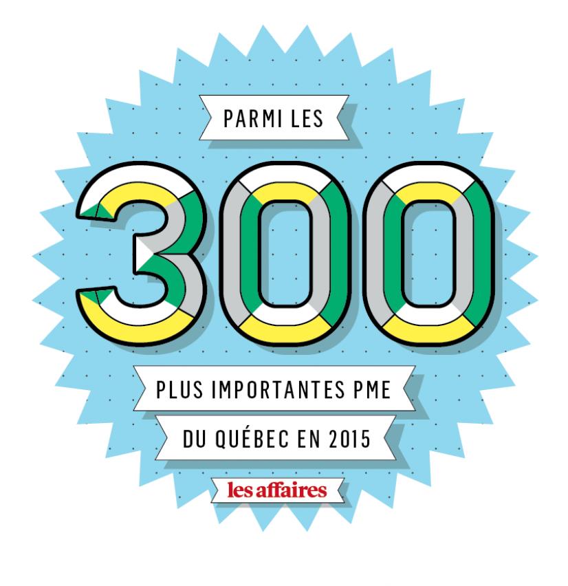 Sur la liste des 300 PME les plus importantes du Québec