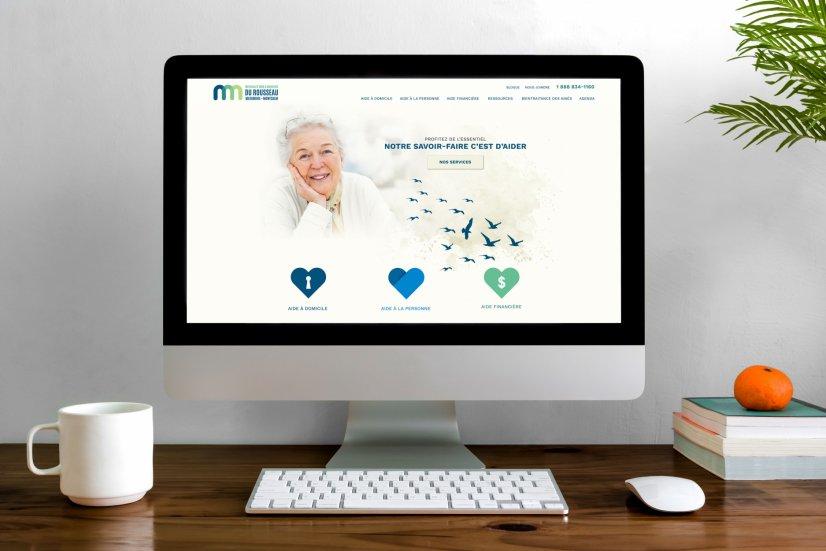 Une conception web sur mesure pour les Services d'aide à domicile du Rousseau